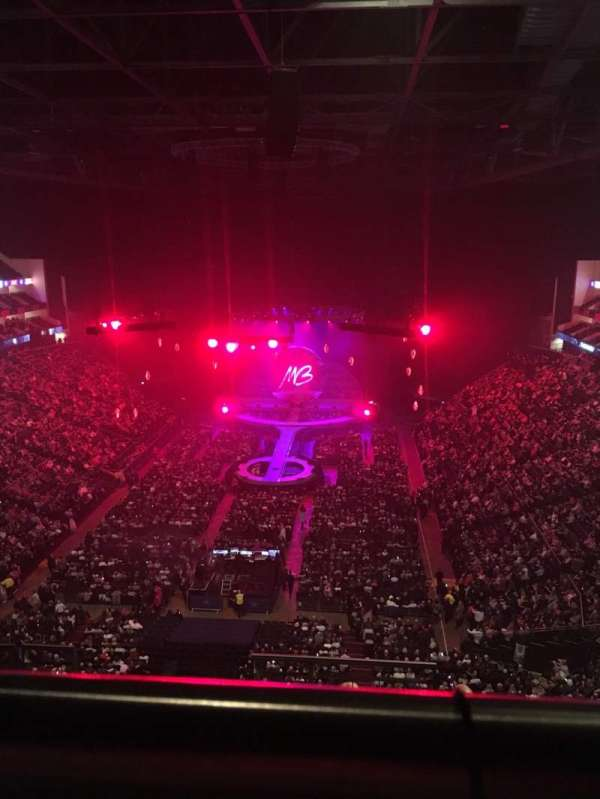 The O2 Arena, section: 412, row: H, seat: 735