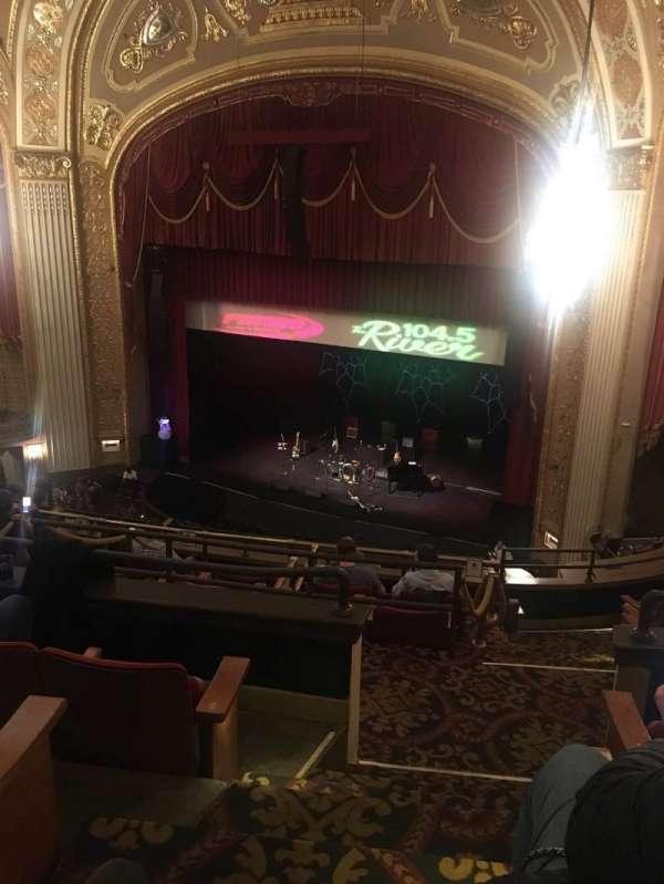 Orpheum Theatre (Memphis), section: Balcony R, row: D, seat: 3