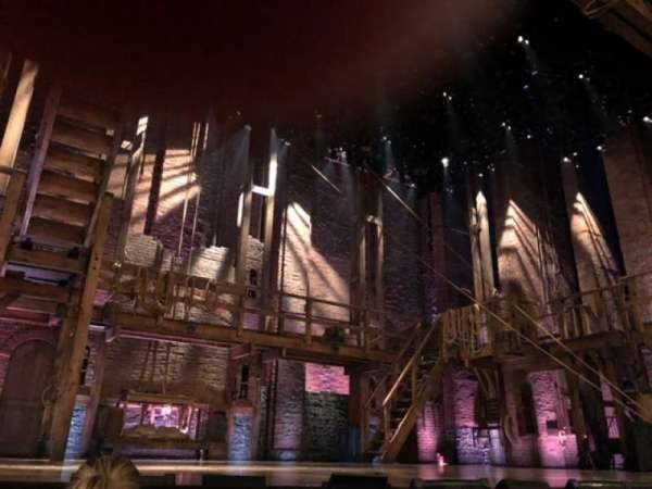 Richard Rodgers Theatre, section: Orchestra L, row: B, seat: 1
