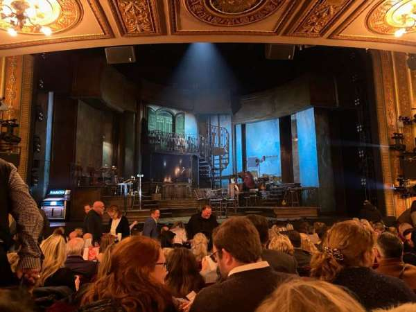 Walter Kerr Theatre, section: Orchestra C, row: P, seat: 114