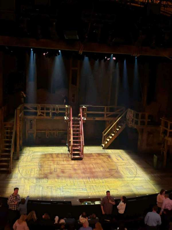 Richard Rodgers Theatre, section: Front Mezzanine C, row: A, seat: 111