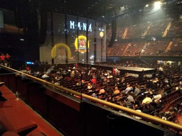 The Forum, section: 128, row: 2, seat: 9-10