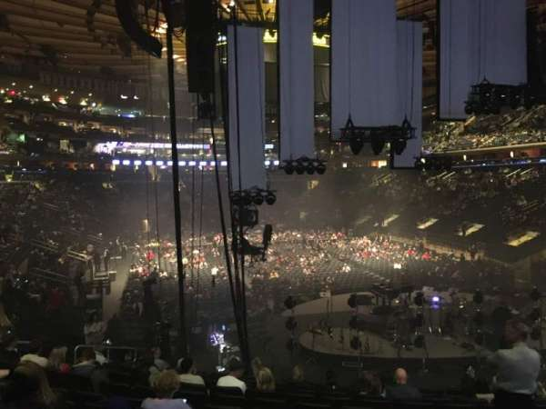 Madison Square Garden, section: 111, row: 17, seat: 15