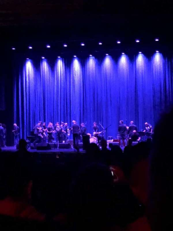 Beacon Theatre, section: Orchestra 2, row: W, seat: 4