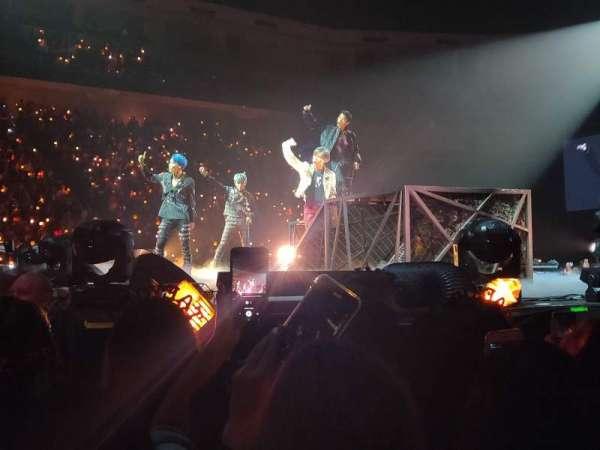 Infinite Energy Arena, section: FLoor 1, row: X, seat: 3