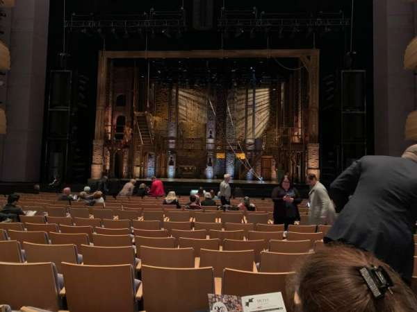 Overture Hall, section: Orchestra right, row: K, seat: 130-131