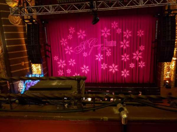 St. George Theatre, section: Fmez B, row: B , seat: 102