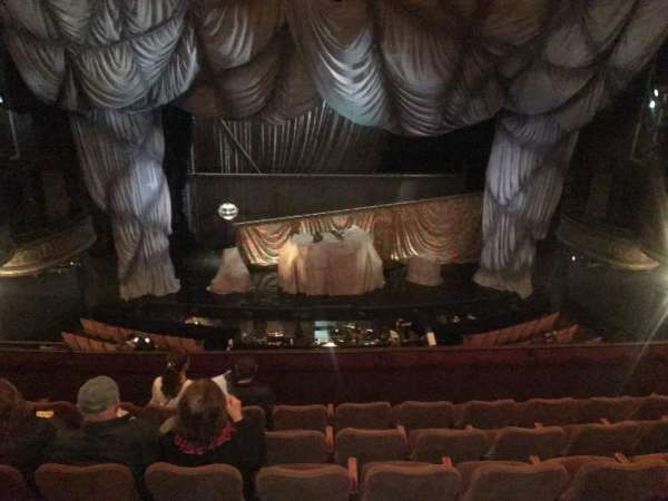 Majestic Theatre, section: Front mezz center, row: F, seat: 105