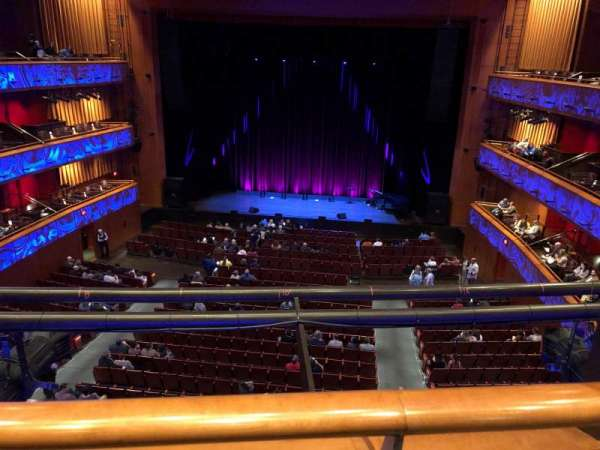 Tobin Center for Performing Arts, section: Center Mezzanine, row: A, seat: 114