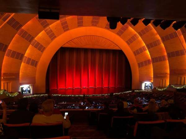 Radio City Music Hall, section: 1st Mezzanine 6, row: G, seat: 601