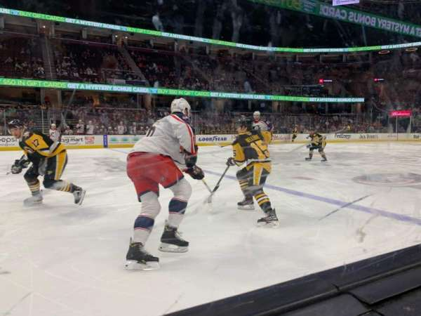 Rocket Mortgage FieldHouse, section: 122, row: 1, seat: 1