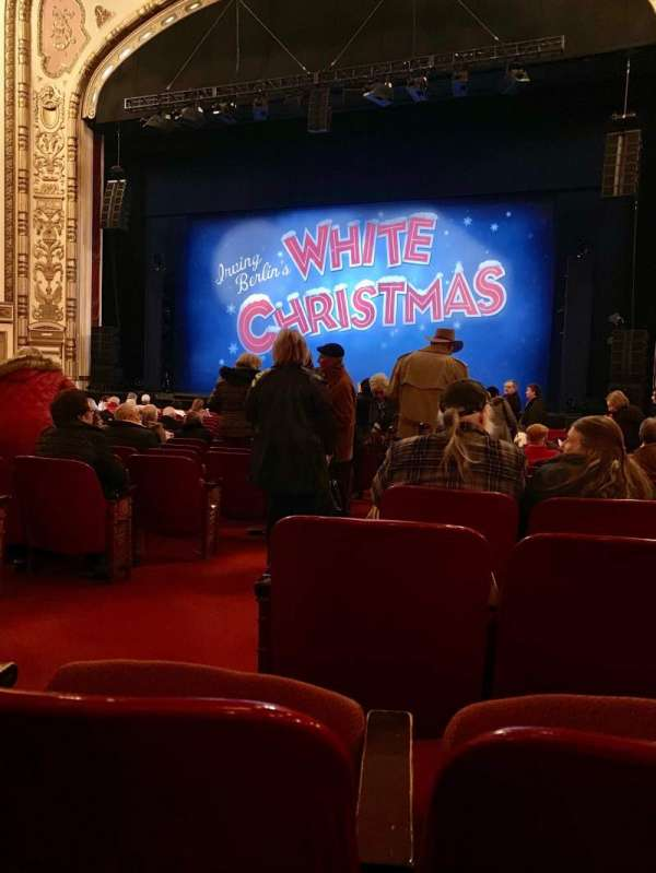 Cadillac Palace Theater, section: Orchestra R, row: Q, seat: 2