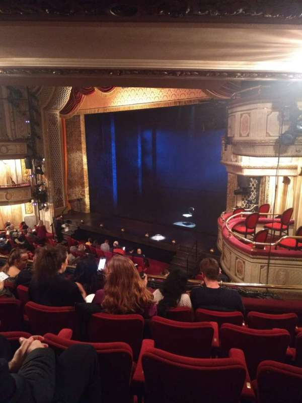 Cort Theatre, section: Mezzanine R, row: E, seat: 22