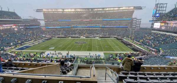 Lincoln Financial Field, section: C22, row: 12, seat: 1