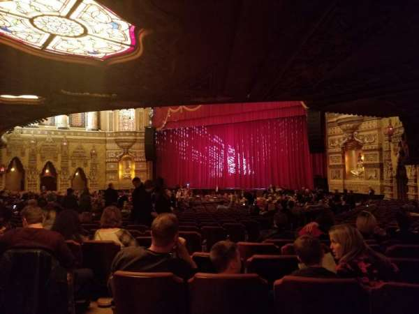 Fox Theatre (Detroit), section: F6, row: PP, seat: 604