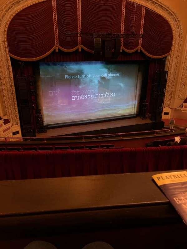 Orpheum Theatre (Minneapolis), section: Balcony 7, row: G, seat: 12