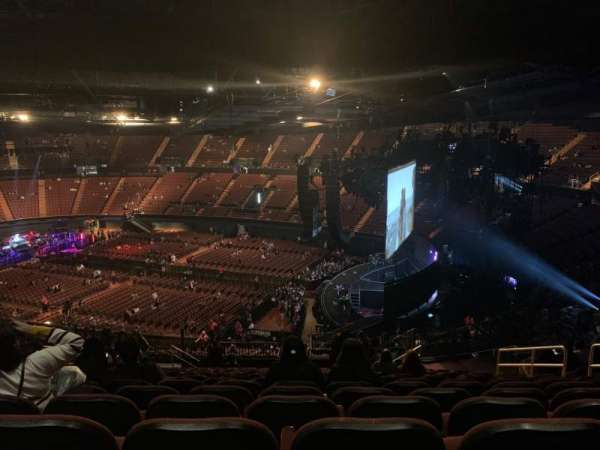 The Forum, section: 214, row: 16, seat: 9-10