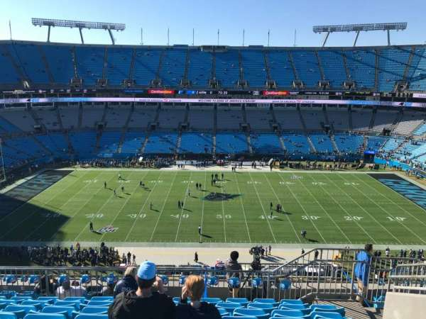 Bank of America Stadium, section: 515, row: 7, seat: 11