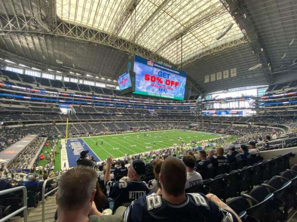 AT&T Stadium, section: 215, row: 12, seat: 12