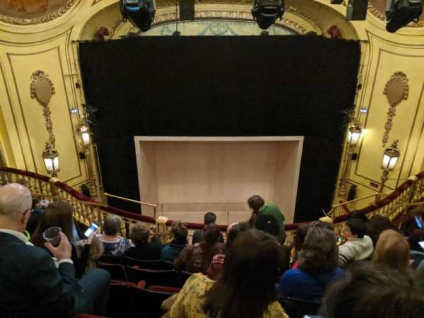 Playhouse Theatre, section: Upper Circle, row: H, seat: 12