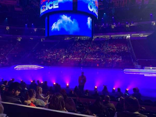 PNC Arena, section: 118, row: G, seat: 10