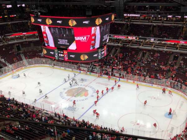 United Center, section: P35, row: GA, seat: 8