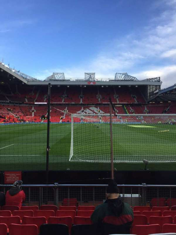 Old Trafford, section: W10, row: Jj, seat: 117