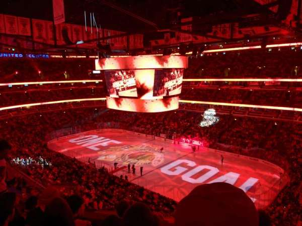 United Center, section: 314, row: 5, seat: 1