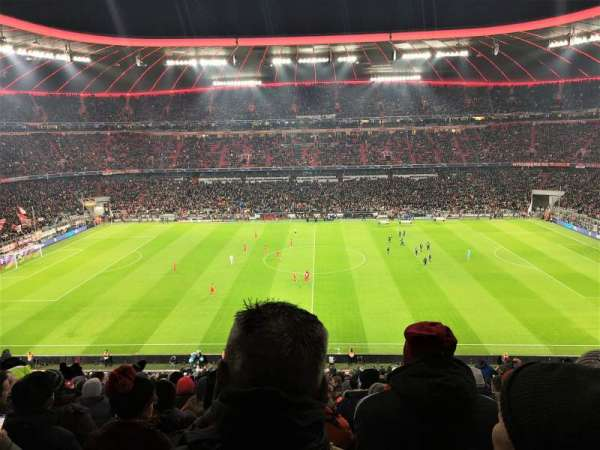 Allianz Arena, section: 231, row: 23, seat: 4