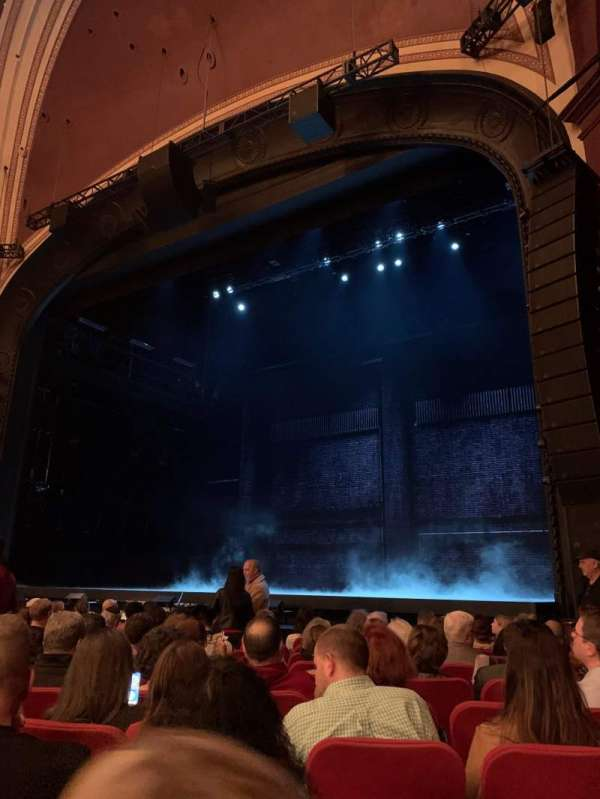 Broadway Theatre - 53rd Street, section: Orchestra R, row: K, seat: 17