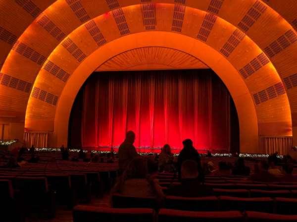 Radio City Music Hall, section: Orchestra 3, row: K, seat: 312