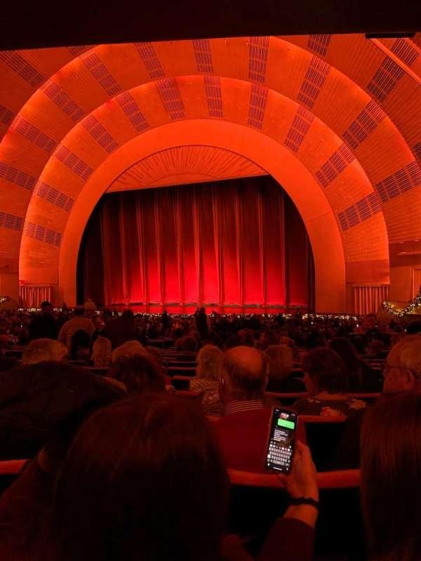 Radio City Music Hall, section: Orchestra 2, row: P, seat: 204