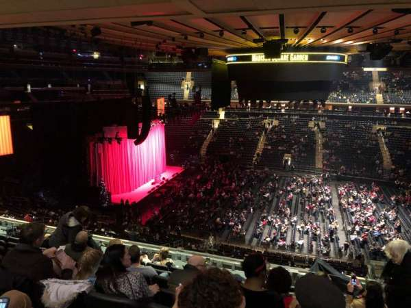 Madison Square Garden, section: 224, row: 10, seat: 17