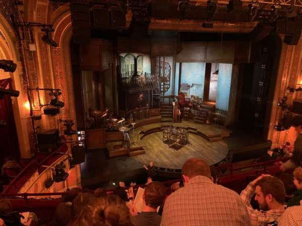 Walter Kerr Theatre, section: Mezzanine L, row: F, seat: 13
