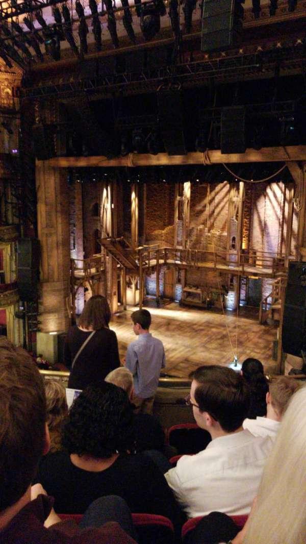 CIBC theatre, section: Mezzanine R, row: E, seat: 10