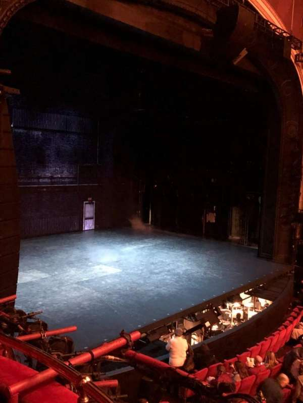 Broadway Theatre - 53rd Street, section: Box B, seat: 4