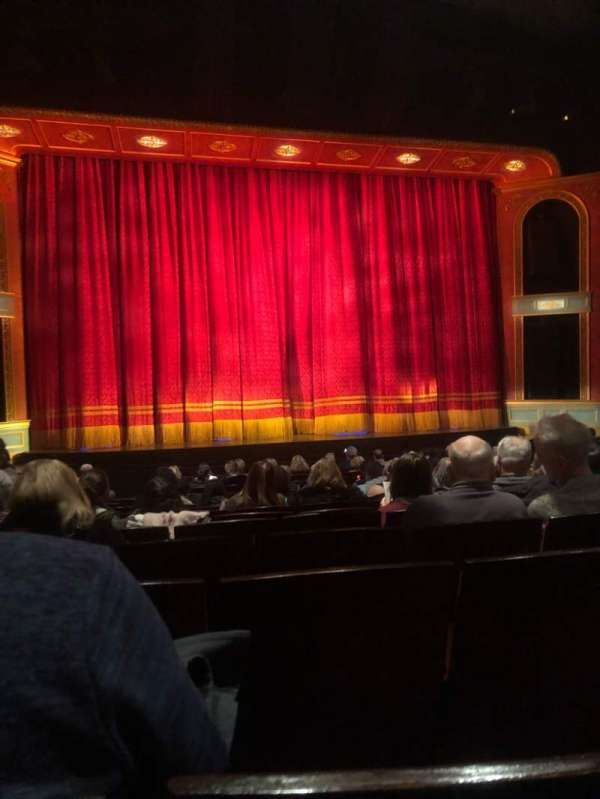 Marquis Theatre, section: Orchestra C, row: Q, seat: 106