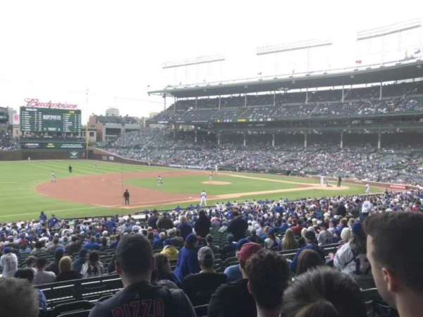 Wrigley Field, section: 208, row: 7, seat: 16