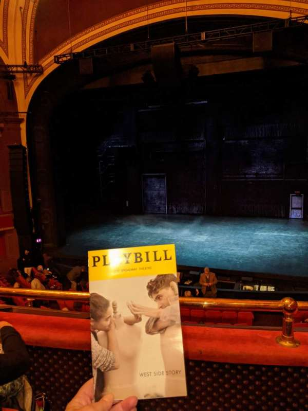Broadway Theatre - 53rd Street, section: Front Mezzanine RC, row: B, seat: 115