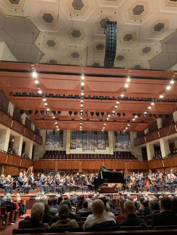 The Kennedy Center Concert Hall, section: orchestra, row: N, seat: 113