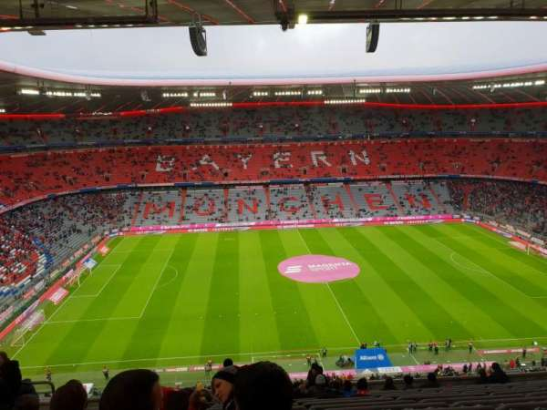 Allianz Arena, section: 302, row: 14, seat: 23