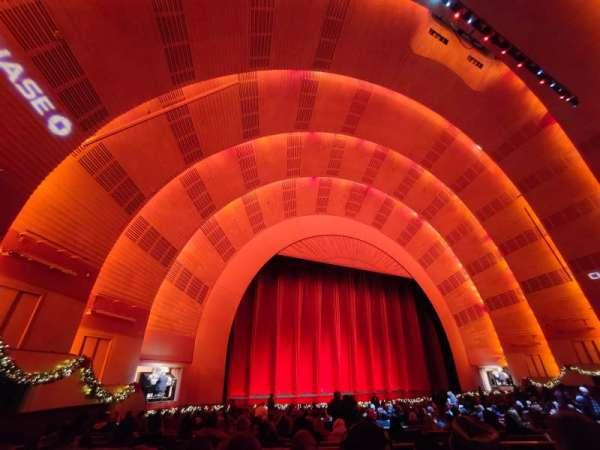 Radio City Music Hall, section: Orchestra 6, row: zz, seat: 609