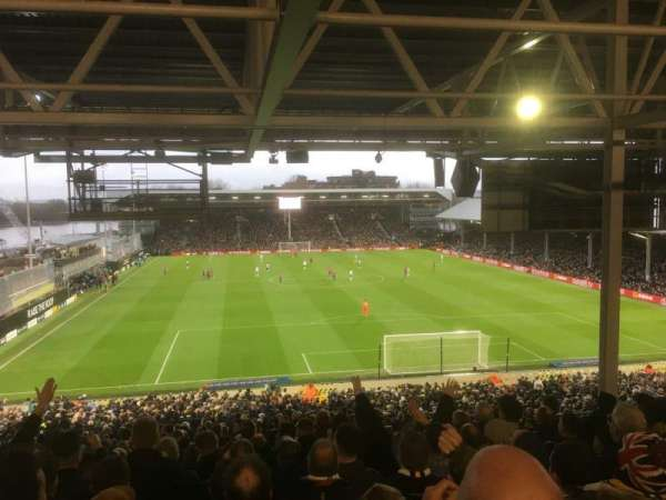 Craven Cottage, section: P5, row: YY, seat: 105