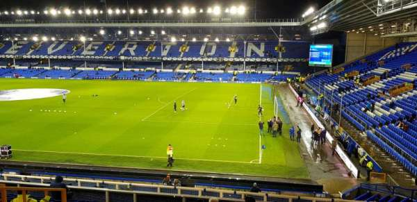 Goodison Park, section: MS4, row: R, seat: 212