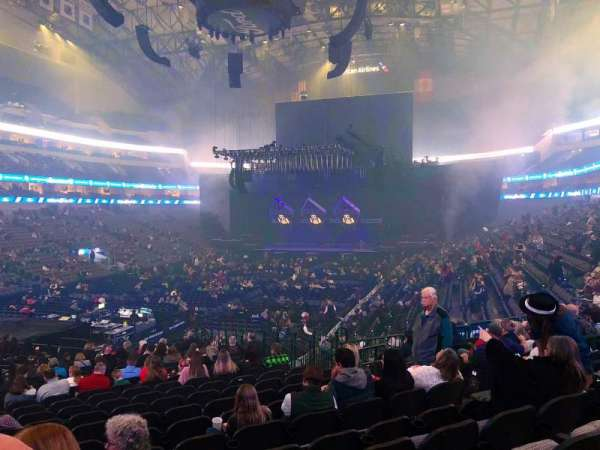 American Airlines Center, section: 111, row: W, seat: 11