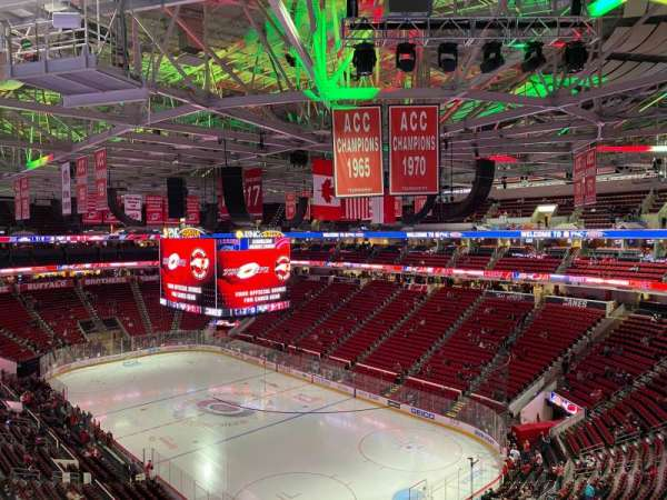 PNC Arena, section: 326, row: A, seat: 12
