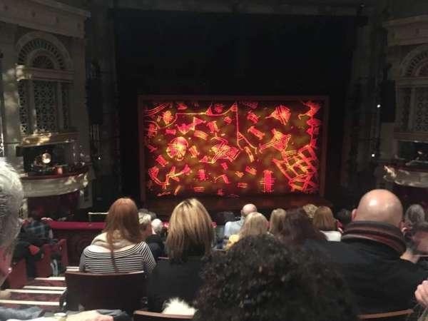 Edinburgh Playhouse, section: Circle, row: H, seat: 35