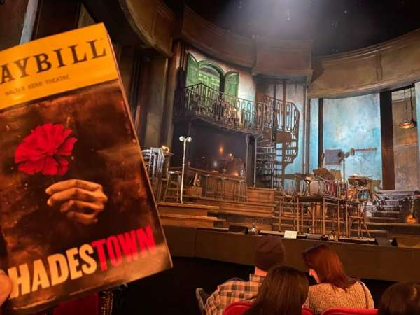 Walter Kerr Theatre, section: Orchestra C, row: F, seat: 117