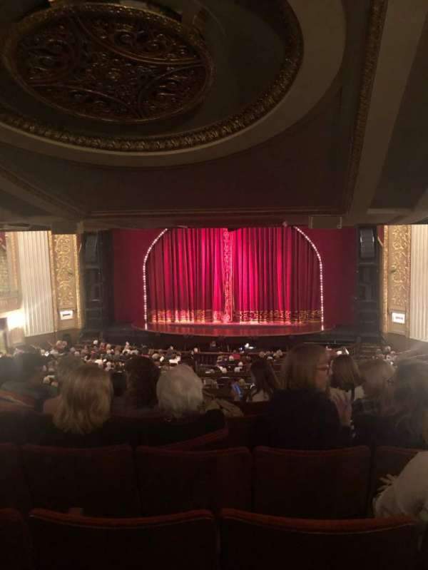 Orpheum Theatre (Memphis), section: Mezzanine RC, row: F, seat: 105