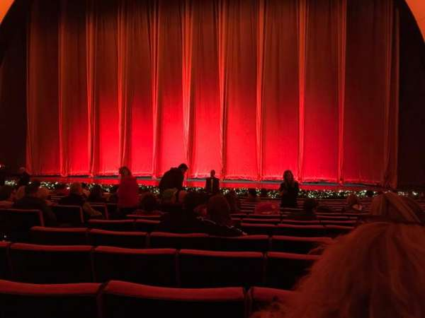 Radio City Music Hall, section: Orchestra 3, row: PP, seat: 310